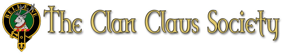 The Clan Claus Society Clan Crest Badge
