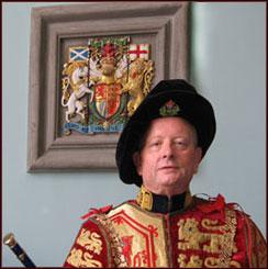 Lord Lyon King of Arms, Santa Joseph J. Morrow