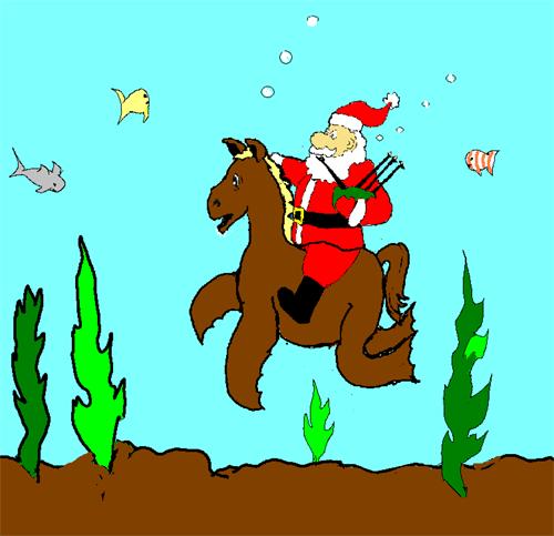How Santa found Scotland